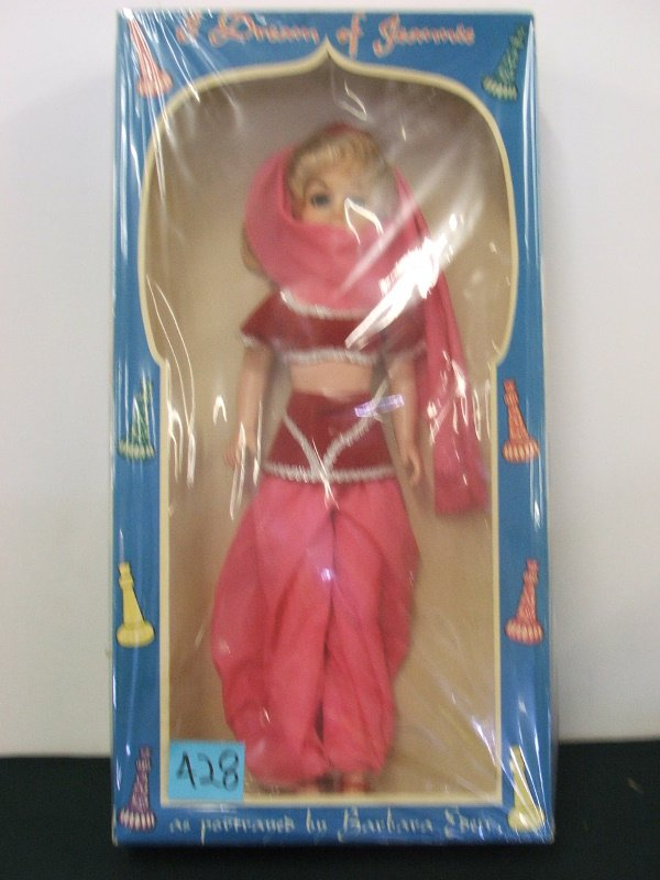 """345: TOY """"I DREAM OF JEANNIE"""" DOLL MAJORETTE 22 1/2"""" X"""