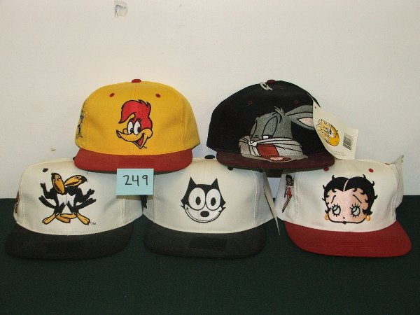 412: HATS HECKLE AND JECKLE, FELIX THE CAT, BETTY BOOP,