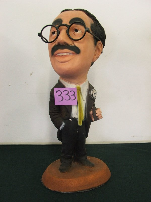 """446: ESCO STATUE """"GROUCHO MARX"""" THE MARX BROTHERS 16"""""""