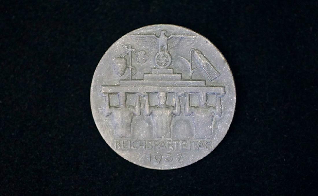 German 1937 ReichsParteitag Badge