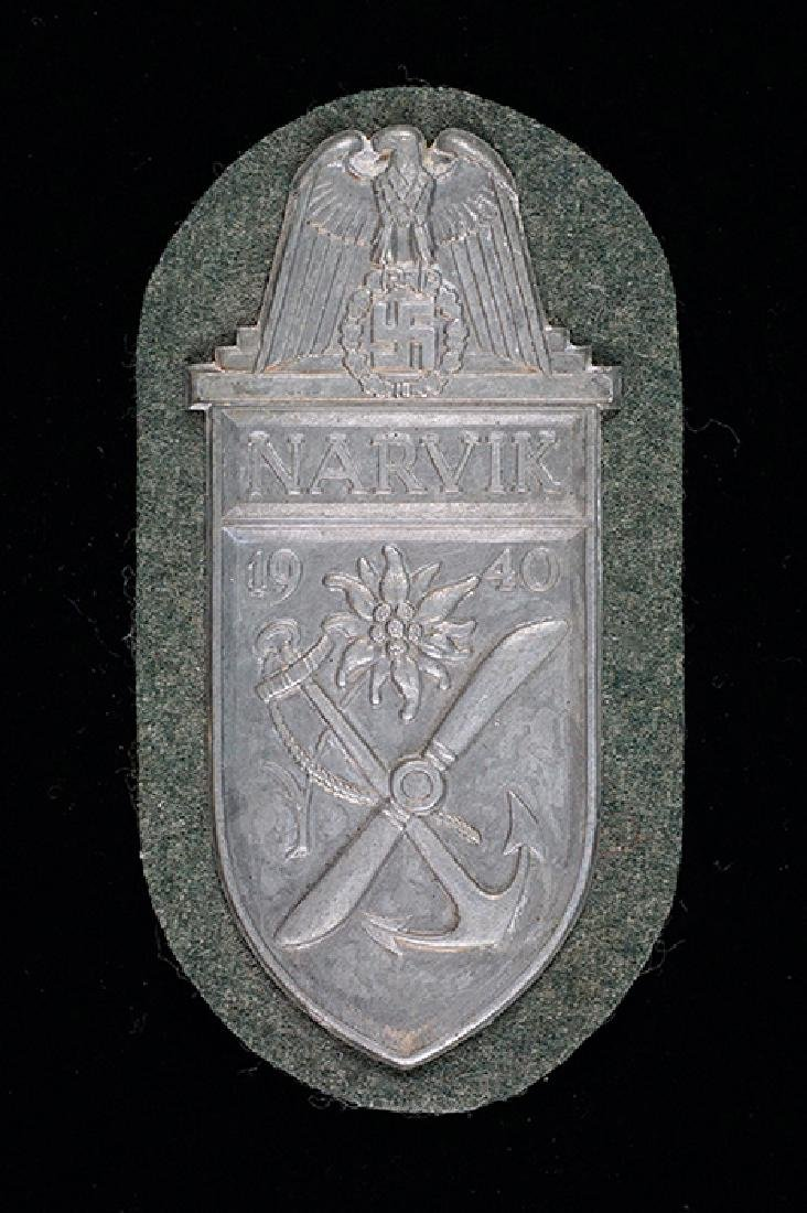 WWII German NARVIK Campaign Shield