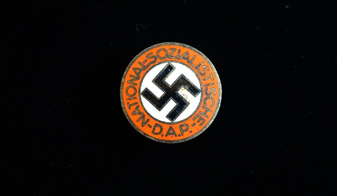 WWII German NSDAP Party Membership Lapel Pin M1/163