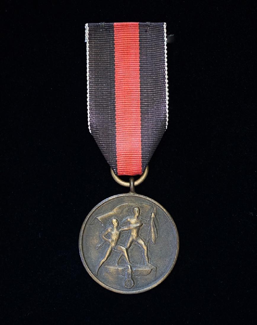 WWII German 1938 Sudentenland Medal