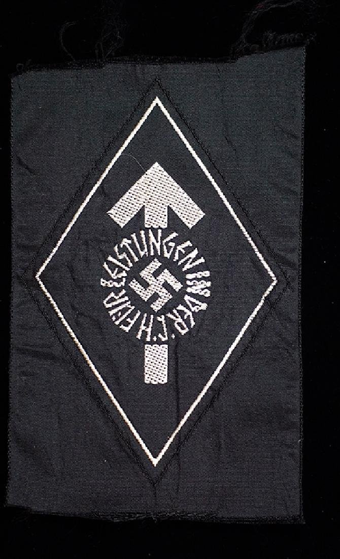 WWII German Hitler Youth Silver Sports Badge