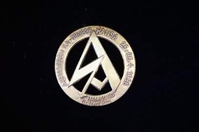 Geman 1936 SA-Gruppe Hansa Badge