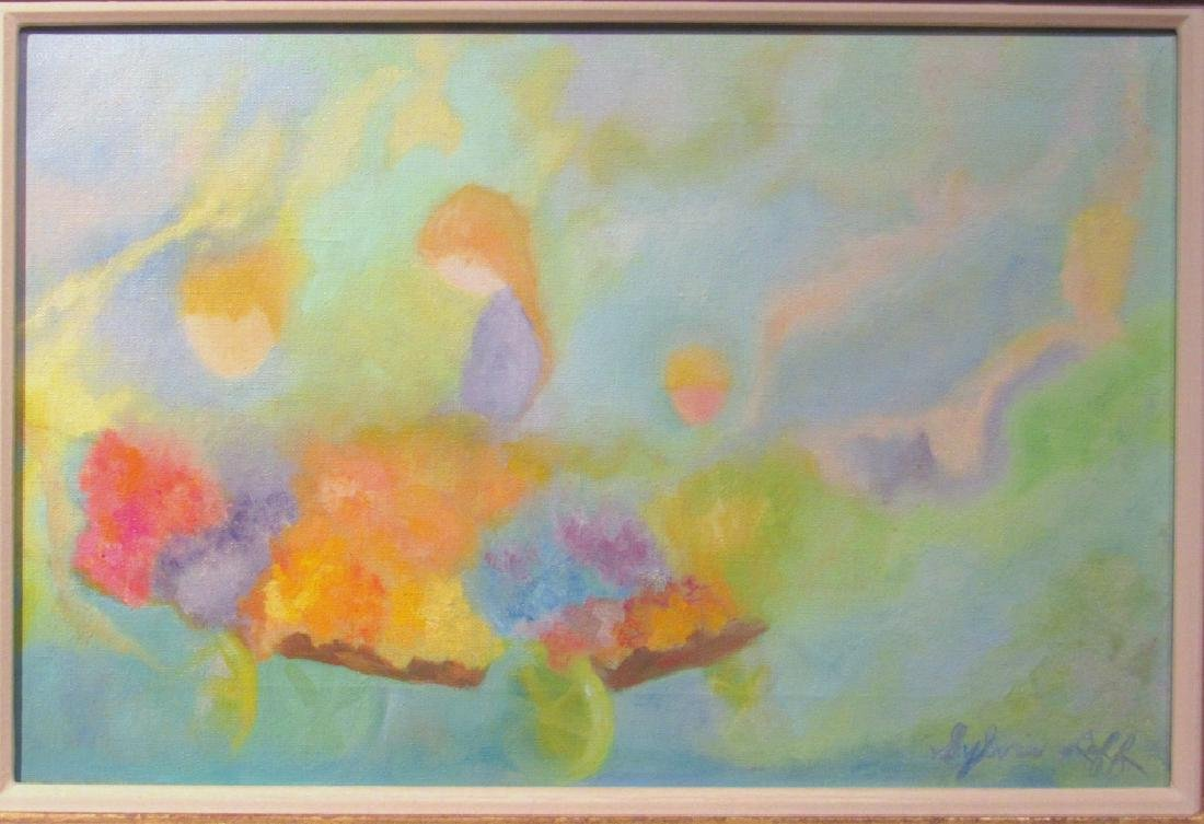 Sylvia Leff - Oil on Canvas