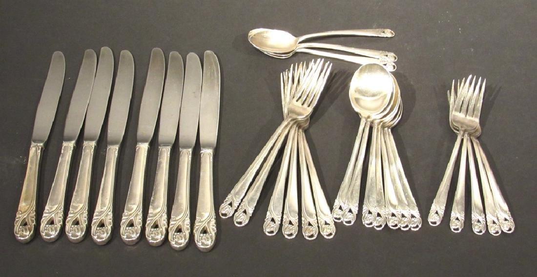 International Sterling Silver Partial Flatware Set