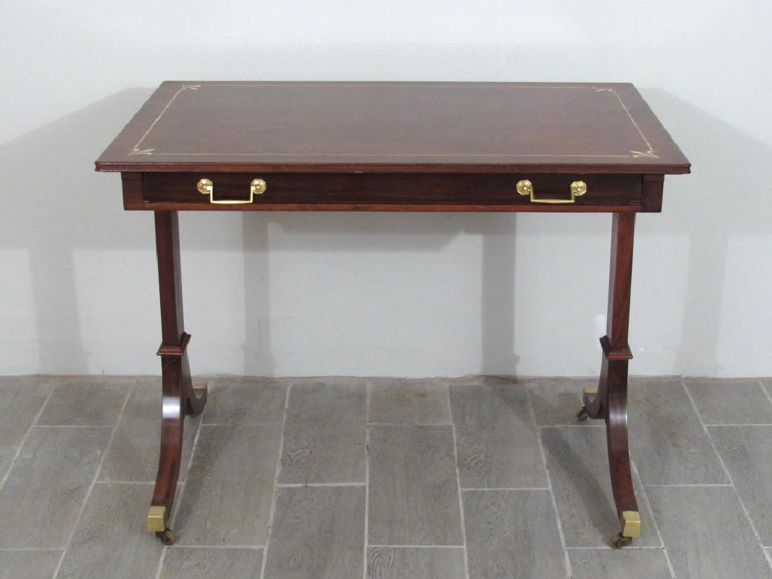 Regency Style Rosewood Small Desk