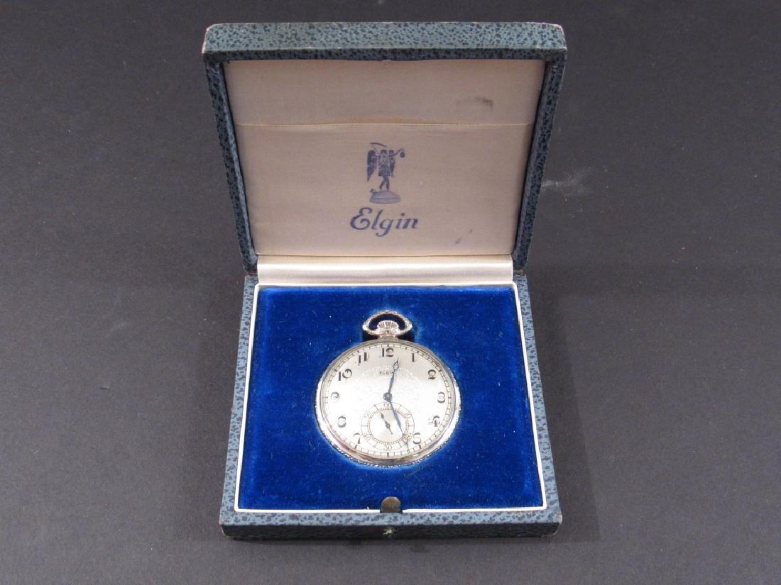 14K Gold Filled Elgin Pocket Watch