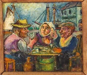 David Burliuk (Ukrainian/American, 1882-1967)