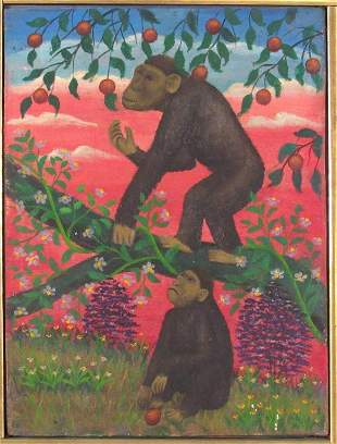 Lawrence H. Lebduska (1894-1966) - Oil