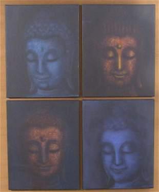 Kasem K. - Set of Oils on Canvas