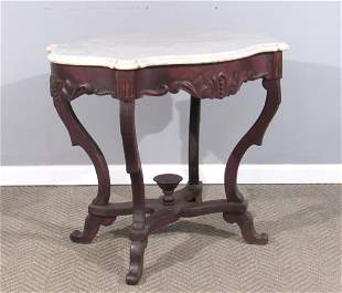 Victorian Turtle Shaped Center Table