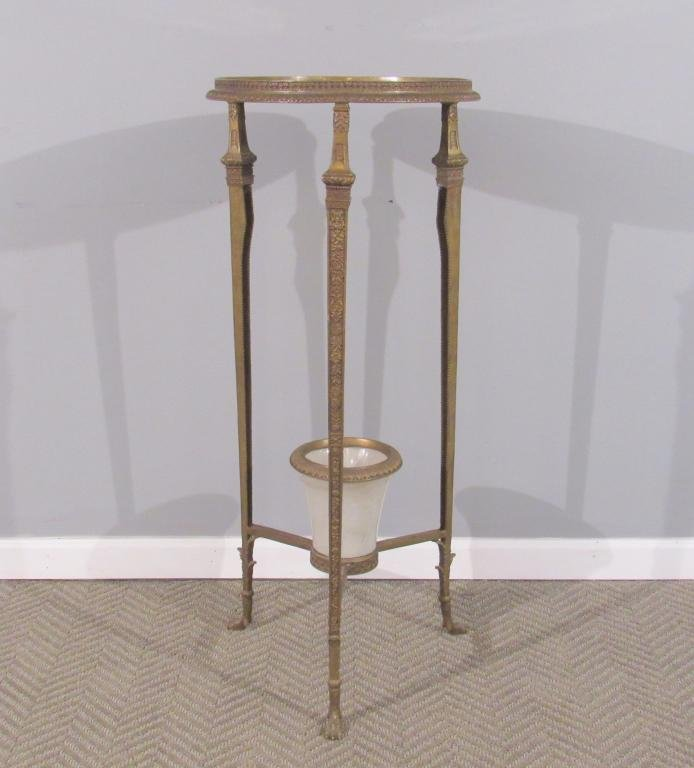French Empire Style Pedestal Planter