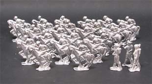 26 Unpainted Lead Soldiers