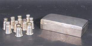 Sterling Silver - 10 Shakers and a Box