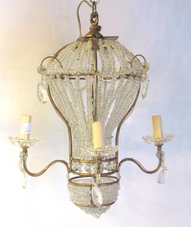 Bagues Style Hot Air Balloon Form Fixture