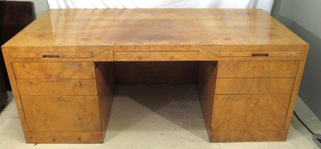 Mid Century Executive Desk by Directional