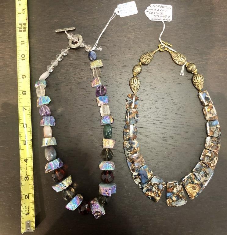 GORJAYOUS Original - 2 Necklaces