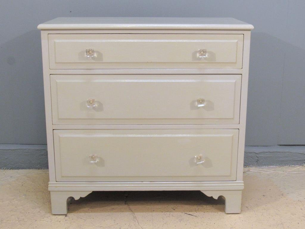 Vintage Painted 3 Drawer Chest