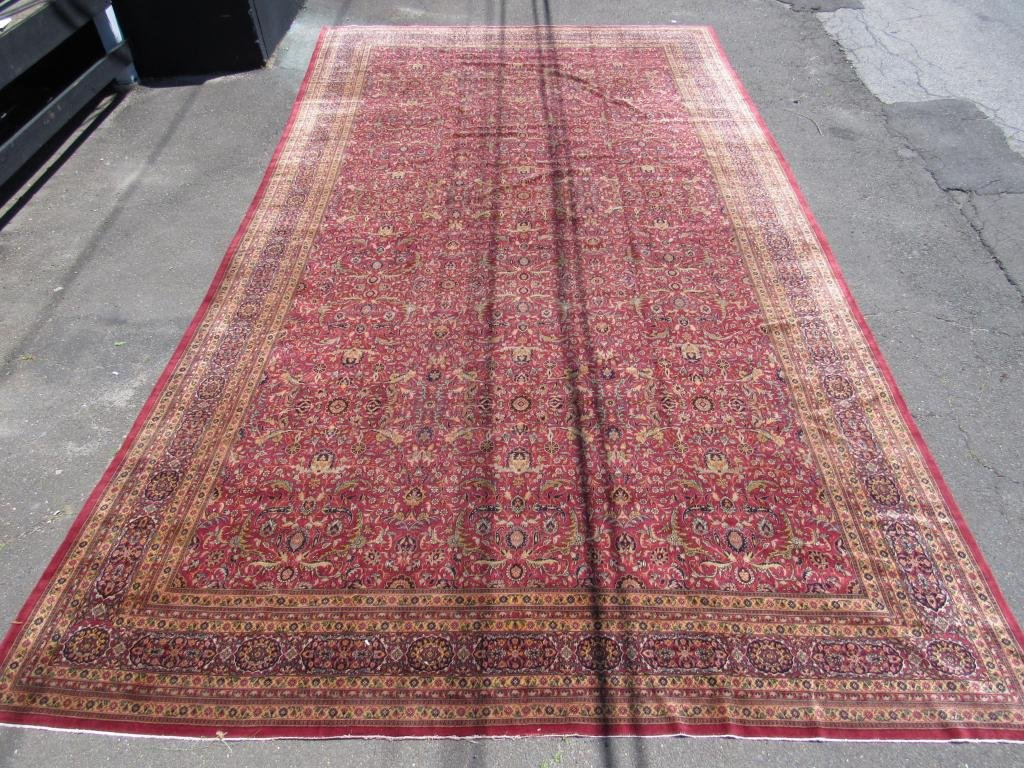 "Palace Size Oriental Carpet - 12'11"" X 23'"