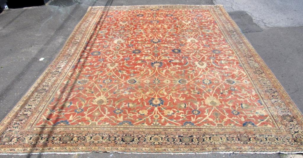 "Oriental Carpet - 13'6"" X 18'7"" (reduced)"