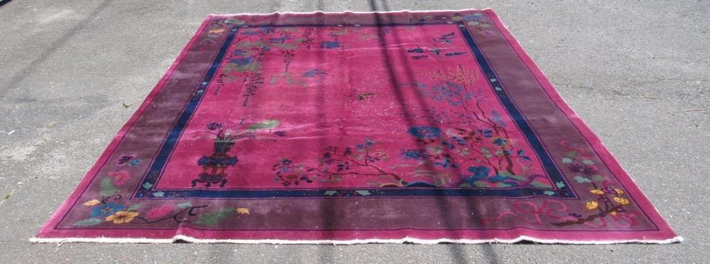"""Chinese Carpet - 8' X 9'9"""""""