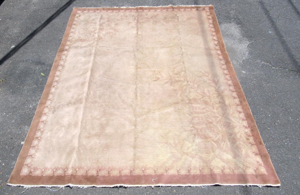 """Chinese Carpet - 7'11"""" X 9'10"""""""