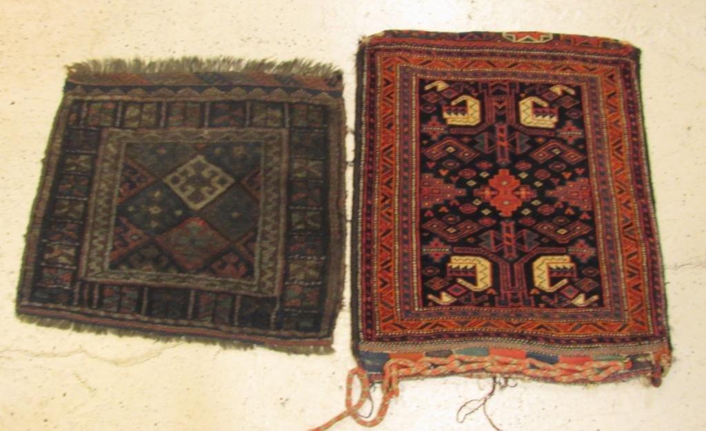 Oriental Mat AND Saddle Bag face