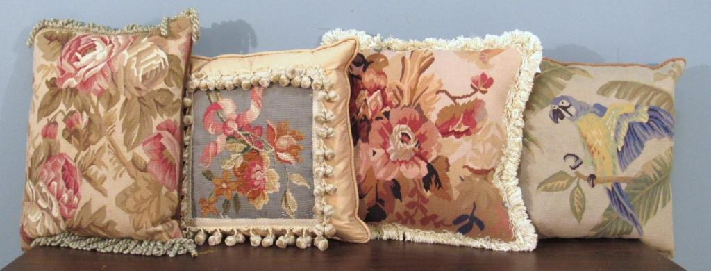 4 Aubusson Pillows