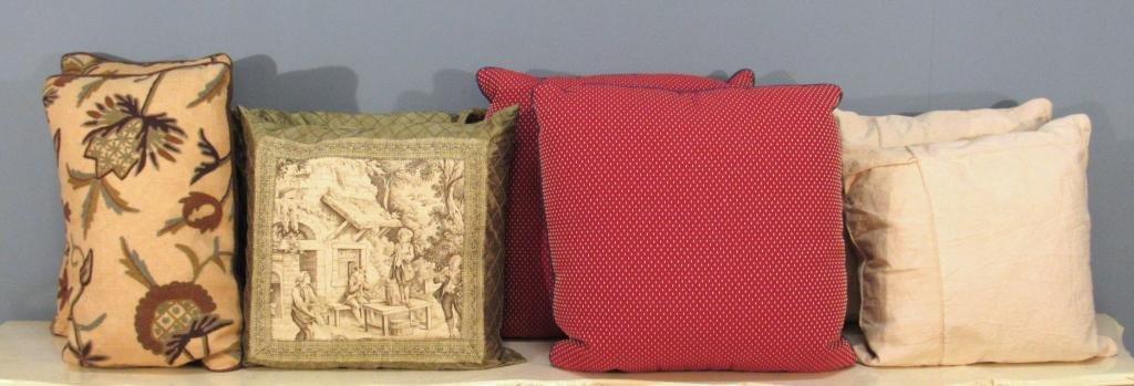 4 Pair Decorative Pillows