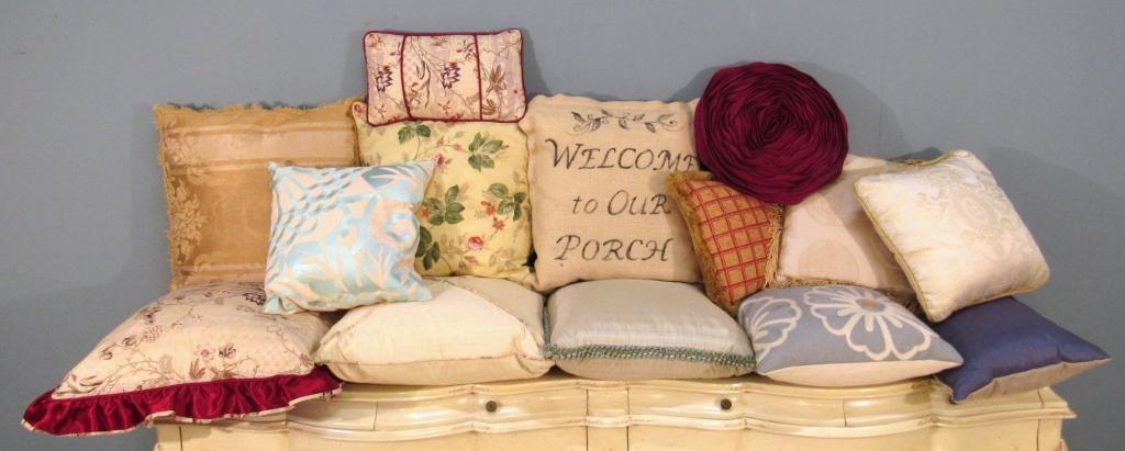 14 Assorted Pillows