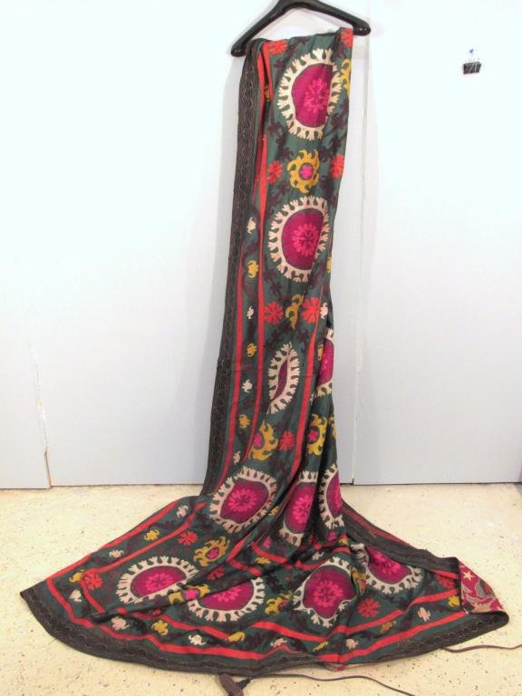 2 Large Ethnic Woven Tapestries / Cloths