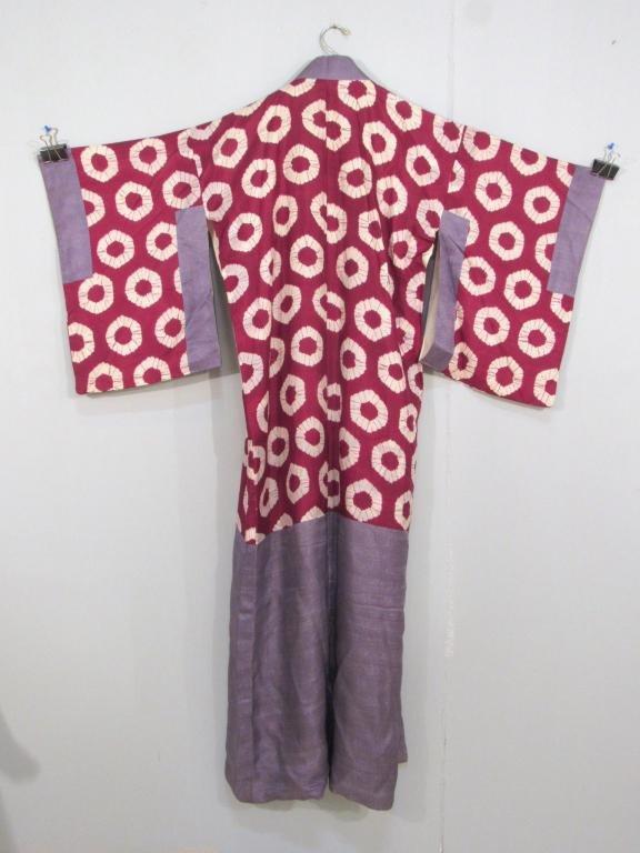 2 Japanese Silk Kimonos