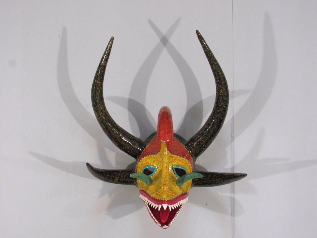 Painted Celebration Mask - Puerto Rico