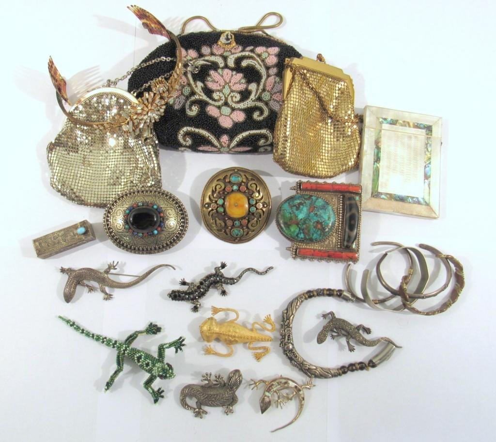 Assorted Costume Jewelry and Purses