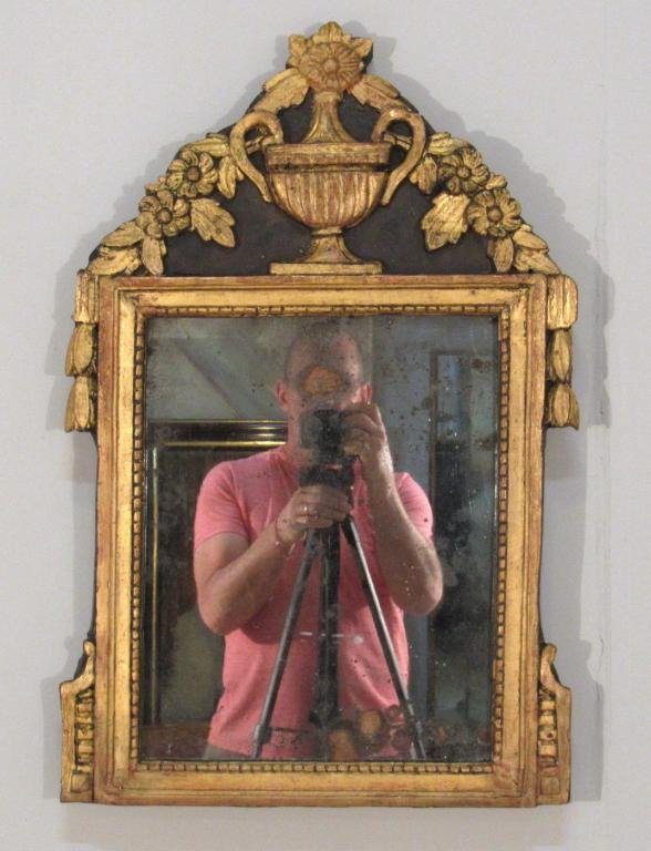 Antique 18th Century Small French Mirror