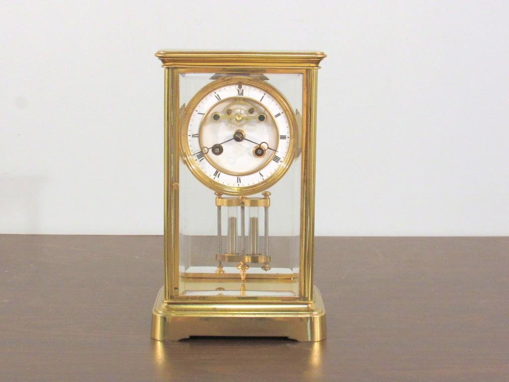 Brass and Glass Atmos / Carriage Clock ***