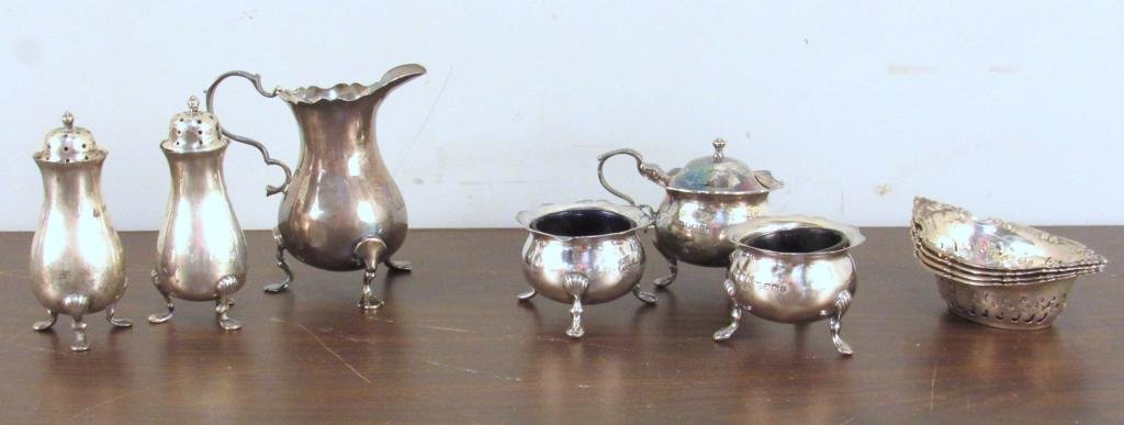 Antique English Silver and Sterling