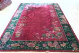 """Chinese Carpet - 8' 9"""" X 11' 9"""""""