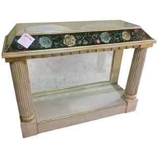 Eglomise Pier Table (102-6200)