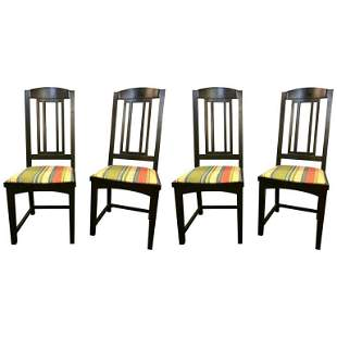 Ebony Pace Modern Collection Dining Chairs