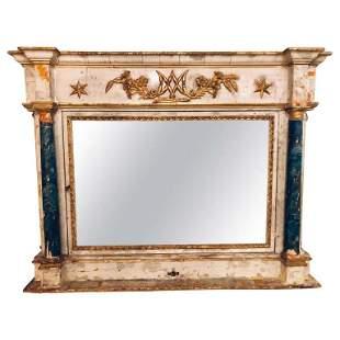 18th-19th Century Mantle Mirror