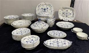 40 Pieces Royal Copenhagen Dinnerware