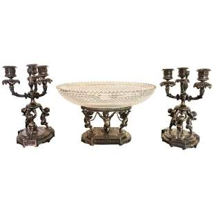 Silver Candelabras For Sale At Auction