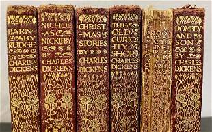 6 Piece Collection of Charles Dickens