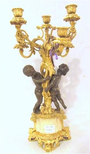 French Bronze Candelabrum (422-246)