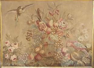 Framed Aubusson Tapestry    (32)