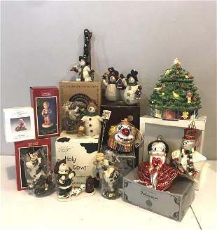 Large Collection of Assorted Christmas Decorations
