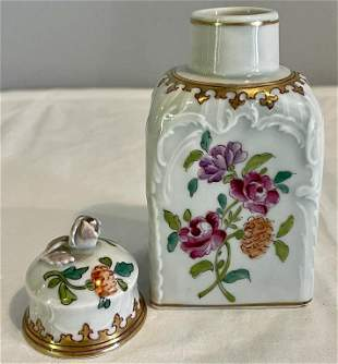 French Antique Tea Caddy (101)